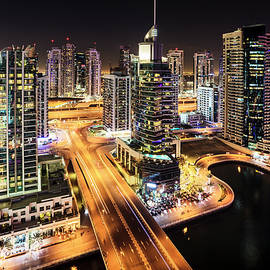 Alexey Stiop - Dubai Marina at night