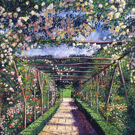 David Lloyd Glover - English Rose Trellis