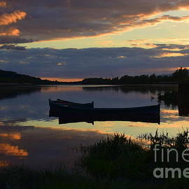 Evening time on The River Suir