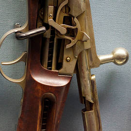 Thomas Woolworth - FireArms Cut Away View 1881 Winchester Hotchkiss Rifle