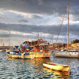 Milan Gonda - fishing boats in Mikrolimano