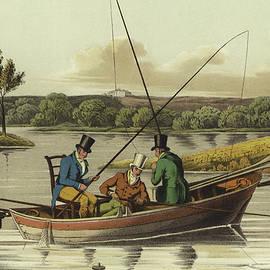 Fishing in a Punt  - Henry Thomas Alken