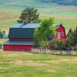 Lorraine Baum - Colorado Foothills Barn