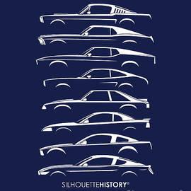 Ford Mustang SilhouetteHistory - Gabor Vida