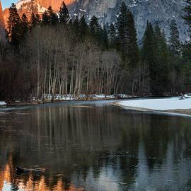 Dan Hartford - Halfdome Sunset and reflection