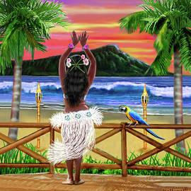 Glenn Holbrook - Hawaiian Sunset Hula