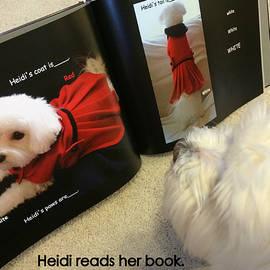 Mary Beth Landis - Heidi Reads Her Book