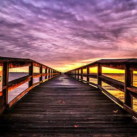 Steve Stephenson - Hilton Pier Sunset