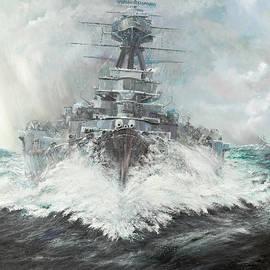 HMS Hood - Vincent Alexander Booth