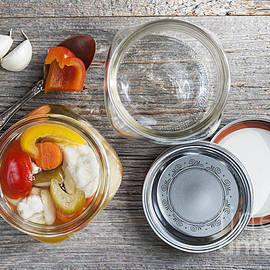 Homemade preserved vegetables - Elena Elisseeva