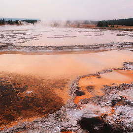 Jeff  Swan - Hot springs in yellowstone.