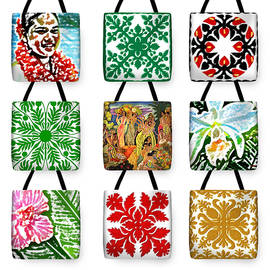 James Temple - James Temple Hawaii Tote Bags
