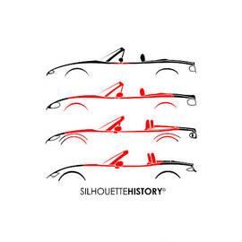 Japanese Roadster SilhouetteHistory - Gabor Vida