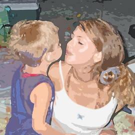 Sabrina Wheeler - Kissing Mommy2