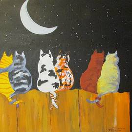 Dave Farrow - Kitty Friends