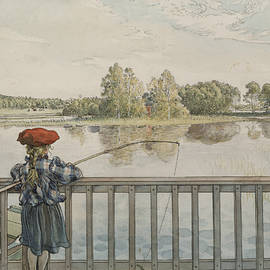 Lisbeth Angling. From A Home - Carl Larsson