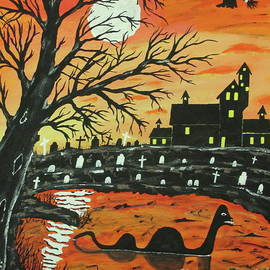 Loch Ness Monster This  Halloween