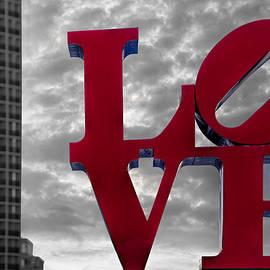 Susan Candelario - Love Park BW