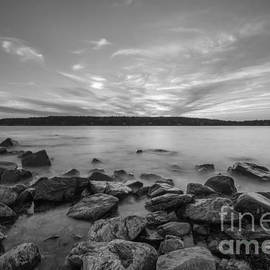 Michael Ver Sprill - Marshall Point Sunset BW