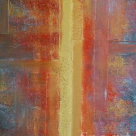 Teresa Wegrzyn - Metallic Abstract 2