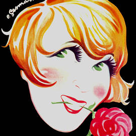 Just Eclectic - Mistinguett - Vintage French Cabaret Ad