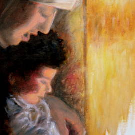 Uma Krishnamoorthy - Mother and child 2