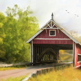 Mary Timman - Netcher Road Covered Bridge