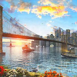New York Sunset - Dominic Davison