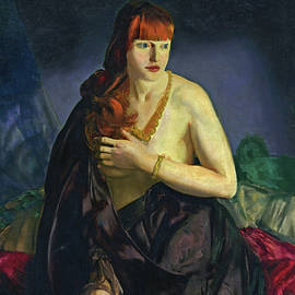 Nude with Red Hair - George Bellows