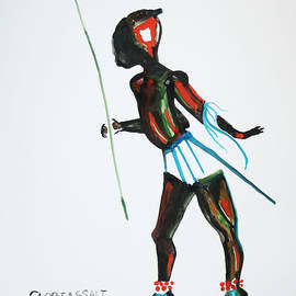 Gloria Ssali - Nuer Dance - South Sudan