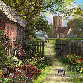 Old Church Path - Dominic Davison
