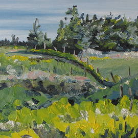 Francois Fournier - On A Field Of Golden Rods