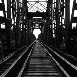 Nathan Little - On The Bridge Black and White