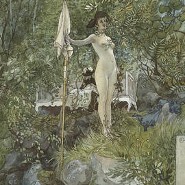 Open-Air Studio. From A Home - Carl Larsson