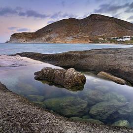 Guido Montanes Castillo - Plomo beach at sunset