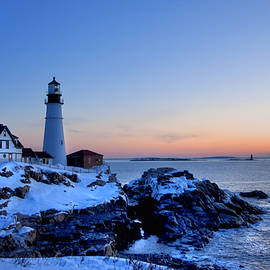 Joann Vitali - Portland Head Lighthouse Sunrise - Maine