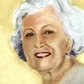 Greta Corens - Portrait of the Artist