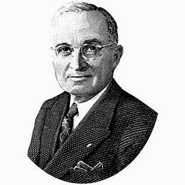 President Harry Truman Graphic - War Is Hell Store