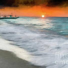 Adrian Evans - Puka Beach Sunset