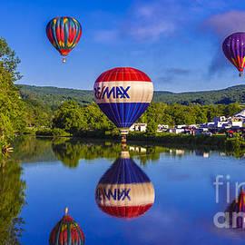 New England Photography - Quechee Balloon Festival.