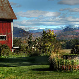 Nancy Griswold - Red Barn in Newbury Vermont
