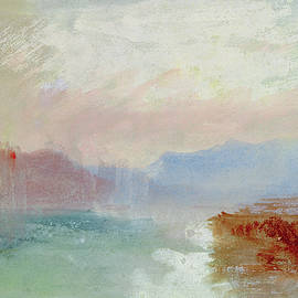 River scene - Joseph Mallord William Turner