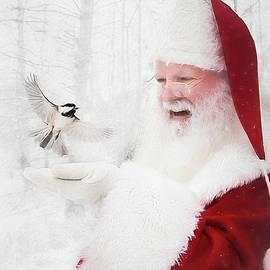 Santa and the Chickadee