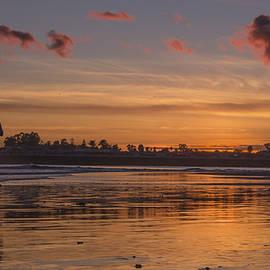 Bruce Frye - Seabright Beach Sunset