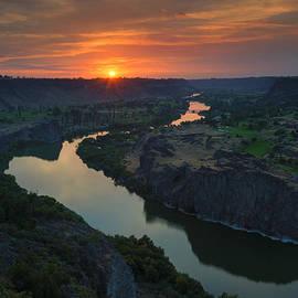 Mike Dawson - Snake River Sunset
