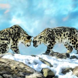 Johanne Dauphinais - Snow Leopard