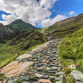 Adrian Evans - Snowdon Summit