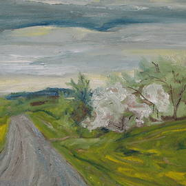 Francois Fournier - Spring Country Road