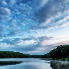 Thomas R Fletcher - Spring Morning on the Lake