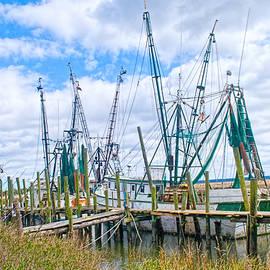 St. Helena Shrimp boats